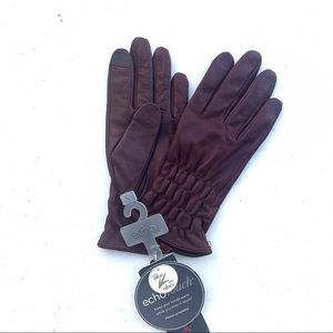 Burgundy Gloves w/ iPhone Compatible